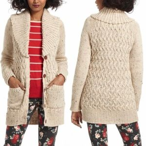 Anthropologie Isabella Sinclair S Chunky cardigan
